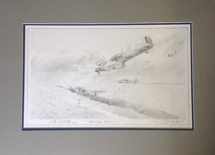 Hurricane Force (Pencil Drawing) by Robert Taylor