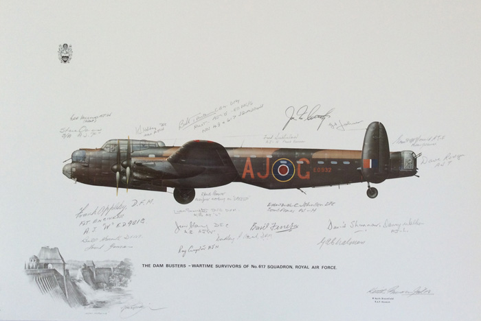 The Dam Busters - Wartime survivors of No. 617 Squadron RAF