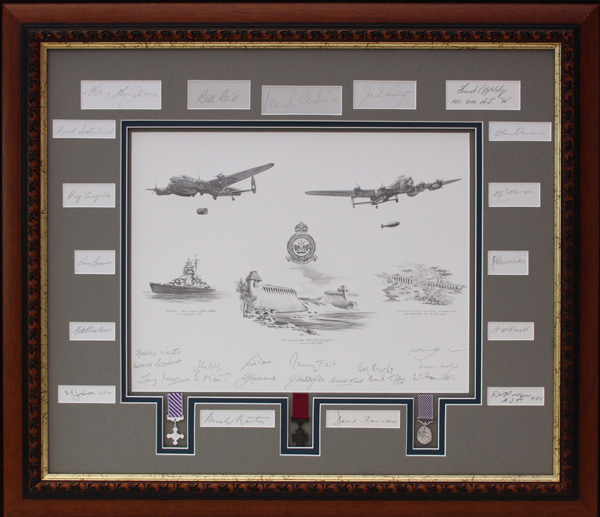 Tribute to the Dambusters by Nicolas Trudgian