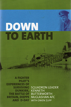 Down to Earth by Squadron Leader Kenneth Butterworth McGlashan with Owen Zupp