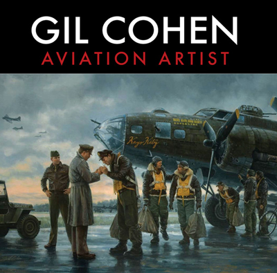 Gil Cohen Aviation Artist