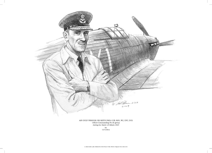 Air Chief Marshall Sir Keith Park by Gil Cohen