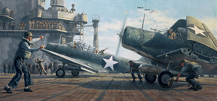 Requiem for Torpedo Eight by Gil Cohen