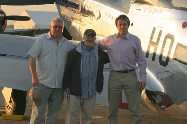 Colin with Gil Cohen and Nicolas Trudgian