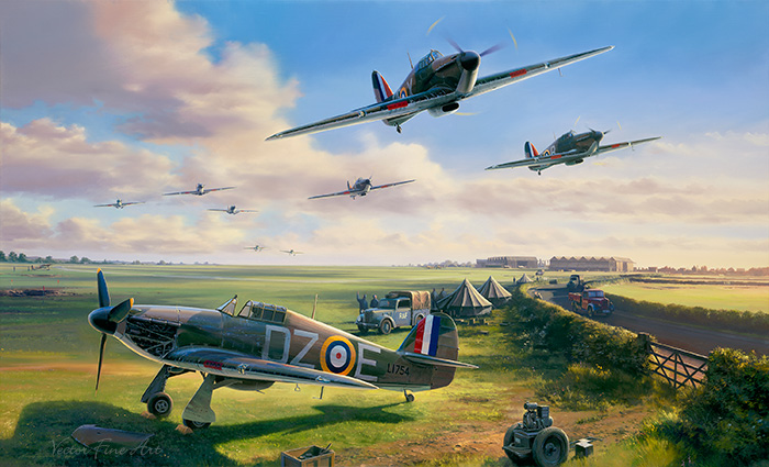 For King and Country The Battle of Britain by Nicolas Trudgian