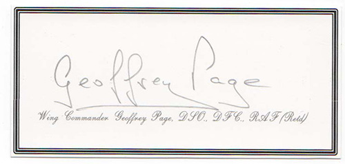 Geoffrey page Signature
