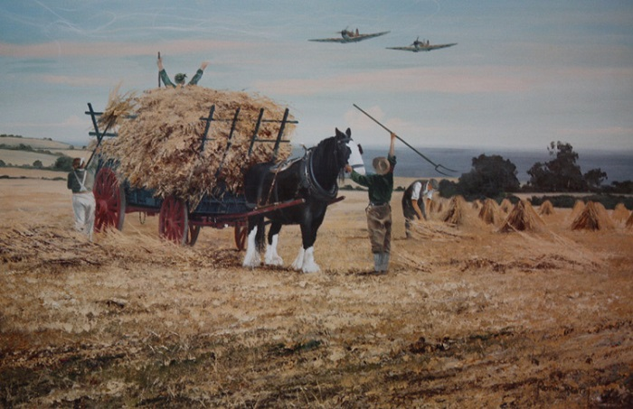Pulling Together - Summer 1940 by Robin Smith